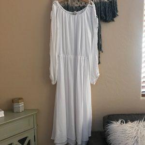 Ann Taylor LOFT Midi Dress Size S